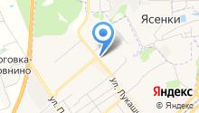 Магазин женского белья на ул. Гагарина на карте
