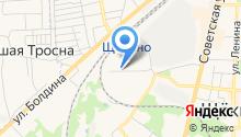 Щекинская автошкола ДОСААФ на карте