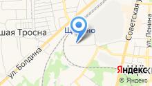 Щёкинская автошкола на карте