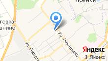 Карамелька на карте