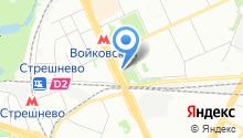 Старвэн на карте