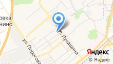 Мастерская по изготовлению памятников на ул. Лукашина на карте