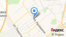 Магазин пультов на ул. Лукашина на карте
