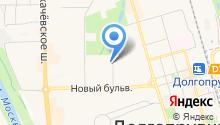 Хрестина на карте