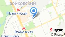 4-й Новоподмосковный на карте