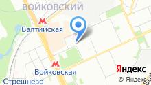 4-й Новоподмосковный, ТСЖ на карте