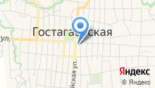 Администрация Гостагаевского сельского округа на карте