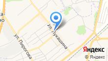 Магазин строительных и отделочных материалов и хозяйственных товаров на карте