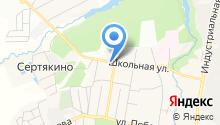 Парнас на карте
