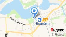 Храм Спаса Нерукотворного Образа в Котове на карте