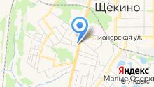 Инспекция гостехнадзора Щёкинского района на карте