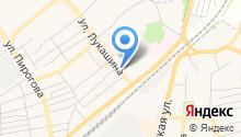 Городская библиотека №1 на карте