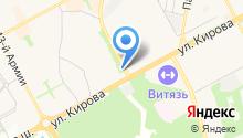 Вегус, ЗАО на карте