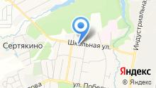 Сбербанк России на карте