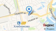 Автомойка на Новом шоссе на карте