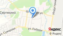 Ателье по пошиву и ремонту одежды на Рощинской на карте