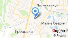 Областная поисково-спасательная служба на карте