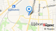 Щёкинский кондитерский комбинат на карте