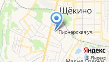 Отдел МВД России по Щёкинскому району на карте
