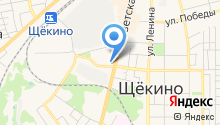 ЗАГС Щёкинского района на карте