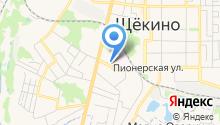 Тульская областная стоматологическая поликлиника на карте