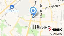 Единая Щекинская ритуальная служба на карте