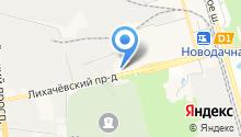 Лихачевский на карте