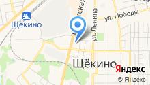 Магазин напольных покрытий на карте