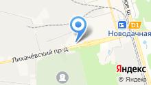 Вертекс на карте