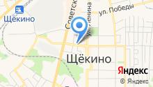 Щёкинская центральная коллегия адвокатов Тульской области на карте
