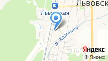 Львовская поселковая библиотека на карте