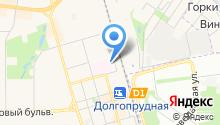 Долгопрудненская центральная городская больница на карте