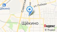 Проспект на карте