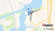парусный клуб водник на карте