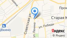 ВОИ, Всероссийское общество инвалидов на карте