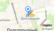 Останкино на карте