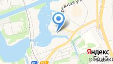Московские водники на карте