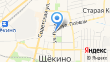 Щёкинский политехнический колледж на карте