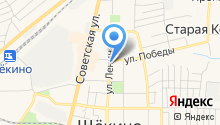 Лазаревская лавка на карте