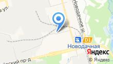Далиан-М на карте