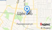 Щёкинская коллегия адвокатов на карте