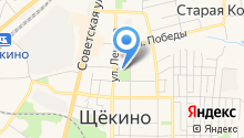 Сквер на карте