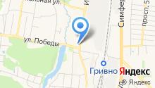 Почтовое отделение №142180 на карте