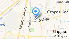 Среднерусская академия современного знания на карте