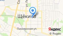 Щёкинский вестник на карте