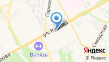Вардек на карте
