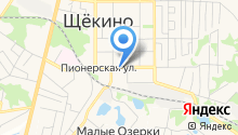 Щекинская аптека №207 на карте