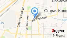 Максипром на карте