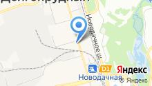 Морена-ЮП на карте