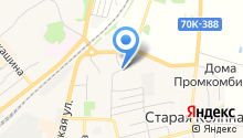 Тулэнерго на карте